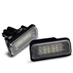 Luci targa LED MERCEDES W211 W219 R171 W203 KOMBI