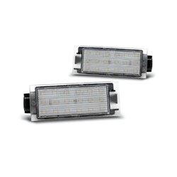 Luci targa LED RENAULT TWINGO 2/ CLIO 3/MEGANE 2,3/ LAGUNA 2,3