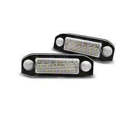 Luci targa LED VOLVO C30 / S40 / V50 / S60 / V70 / S80 / CX60 / CX70 / CX90