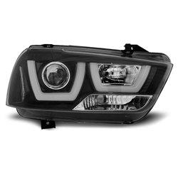 Fari Tube Light Dodge Charger LX II 11-15 Neri