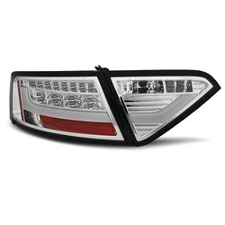 Coppia fari Led Bar posteriori Audi A5 Coupe 07-11 Chrome