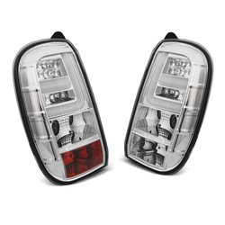 Coppia fari Led Bar posteriori Dacia Duster 2010- Chrome