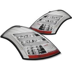 Coppia fari Led Bar posteriori Suzuki Swift 2010- Chrome