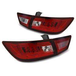 Coppia fari LED BAR posteriori Renault Clio IV 2013- Rossi