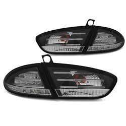 Coppia fari LED posteriori Seat Leon 09-13 Chrome