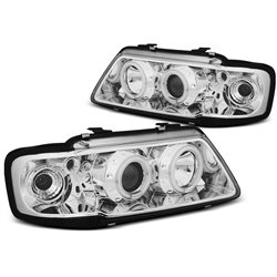 Fari Angel Eyes CCFL Audi A3 8L 96-00