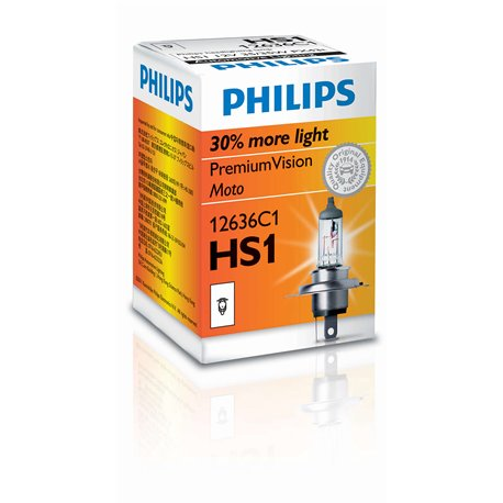 Lampada alogena Philips HS1 CityVision Moto 12V