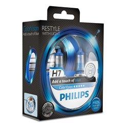 Lampada alogena Philips H7 ColorVision Blue 12V 55W