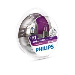 Lampada alogena Philips H1 VisionPlus 12V 55W