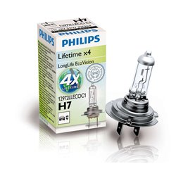 Lampada alogena Philips H7 LongLife EcoVision 12V 55W