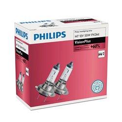 Lampada alogena Philips H7 VisionPlus 12V 55W