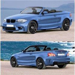 Kit estetico completo BMW Serie 1 M1 Look Coupè Cabrio