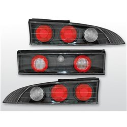 Coppia fari posteriori Mitsubishi Eclipse 95-98 Neri