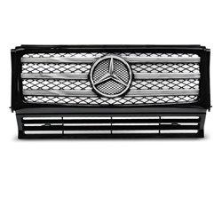 Griglia calandra anteriore Mercedes W463 90-12 Nera e Chrome