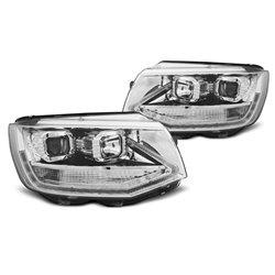 Coppia di fari DRLvera luce diurna Volkswagen T6 2015- Chrome
