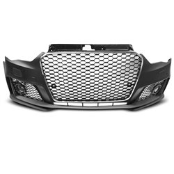 Paraurti anteriore Audi A3 8V 12-16 RS3 Style Chrome (PDC)