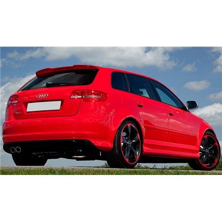 Audi A3 8P 5 Porte Spoiler alettone posteriore lunotto RS3 Look 04-12