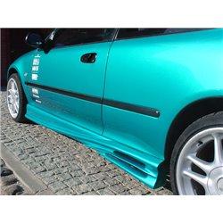 Minigonne laterali sottoporta Honda Civic 92-95 Coupe