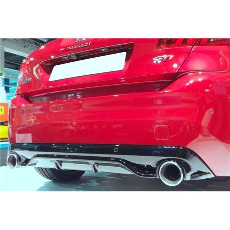 Sottoparaurti estrattore posteriore Peugeot 308