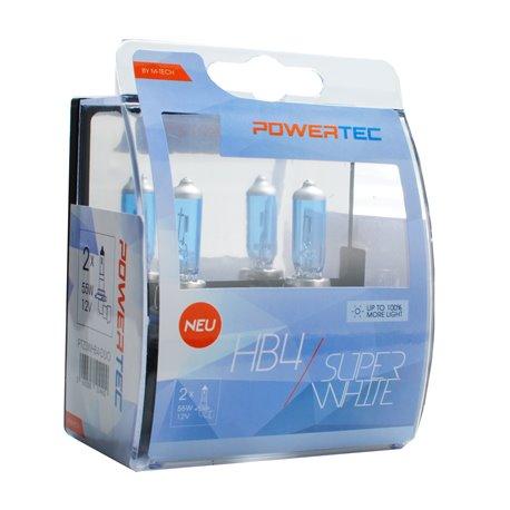 Lampada alogena Powertec SuperWhite HB4 lampada 12V DUO