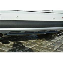 Sottoparaurti splitter centrale posteriore Kia Sportage MK4 GT-Line 2015-