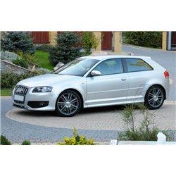 Audi A3 8P 3 Porte Minigonne laterali sottoporta S3