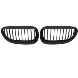 BMW Serie 6 E63 E64 02-10 Griglia calandra anteriore nero opaco