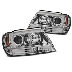 Fari Tube light Chrysler Jeep Grand Cherokee 99-05 Chrome