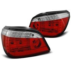 Coppia fari Led posteriori BMW Serie 5 E60 03-07 Bianchi e rossi