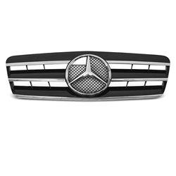 Mercedes CLK W208 96-02 Griglia calandra anteriore nera e cromata