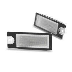 Luci targa LED VOLVO V70 S60 00-04/ S80 99-07/ XC70 01-07