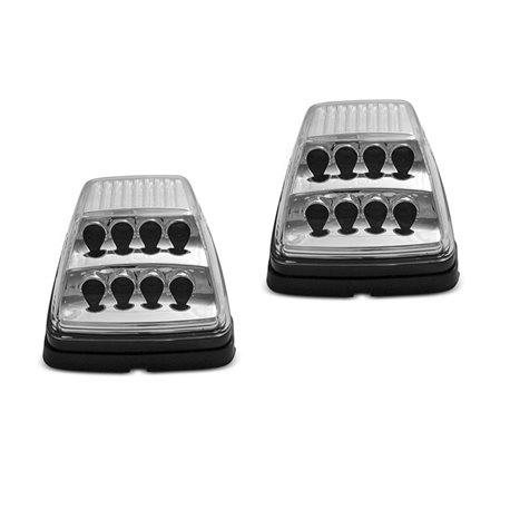 Frecce laterali LED DTS Mercedes Classe G W463 90-12 Chrome