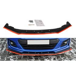 Sottoparaurti splitter anteriore V.4 Subaru BRZ 2017-