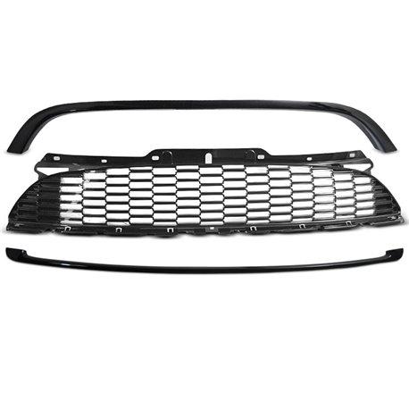 Griglia calandra anteriore Mini Cooper R55-R56-R57 10-14 Nera Lucida