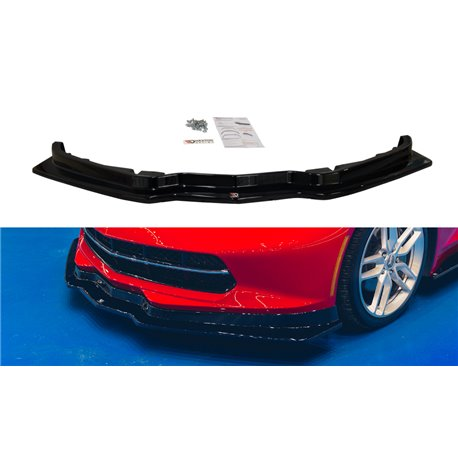 Sottoparaurti splitter anteriore Chevrolet Corvette C7 2013-
