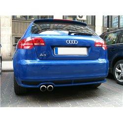 Audi A3 8P Sportback 05-08 Spoiler sottoparaurti posteriore Votex