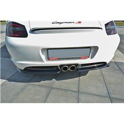 Sottoparaurti splitter laterali posteriori Porsche Cayman S 987C 2006-2009