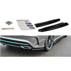 Sottoparaurti splitter laterali posteriori Mercedes CLA C117 AMG-Line 2017-