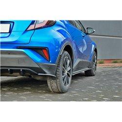 Sottoparaurti splitter laterali posteriori Toyota C-HR 2016-