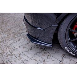 Sottoparaurti splitter laterali posteriori Honda Civic Type R/S MK7 04-06