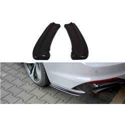 Sottoparaurti splitter laterali posteriori Audi RS5 MK2 Coupe 2017-