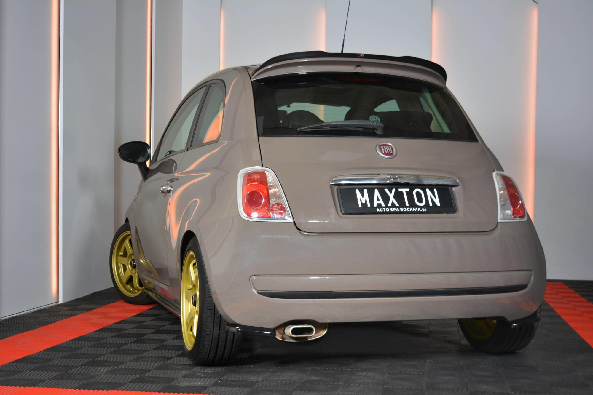 Estensione Spoiler Posteriore Fiat 500 2007 2015
