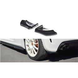 Sottoparaurti splitter laterali posteriori Fiat Abarth 500 2008-2012