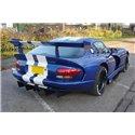 Estrattore sottoparaurti racing Dodge Viper GTS 1996-2002
