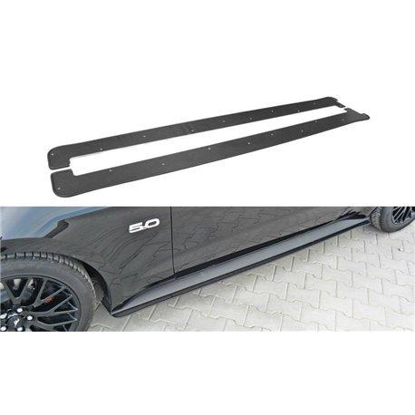 Lama sottoporta racing (ABS) Ford Mustang MK6 GT 2014-