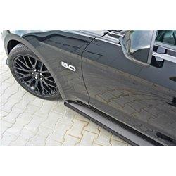 Lama sottoporta racing (Carbon) Ford Mustang MK6 GT 2014-