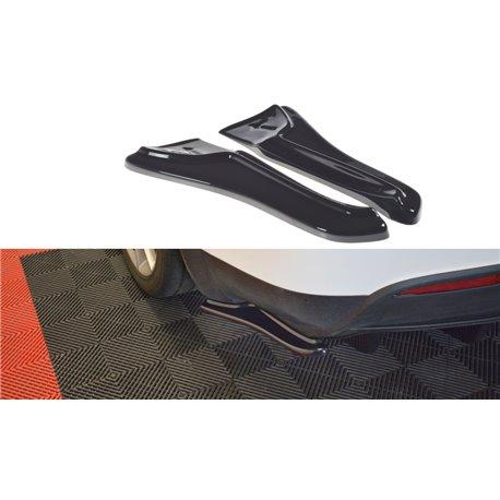 Sottoparaurti splitter laterali Tesla Model X 2015-