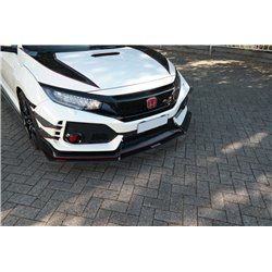 Lama sottoparaurti racing Honda Civic X Type R 2017-