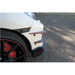 Flaps paraurti anteriore Honda Civic X Type R 2017-