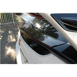 Estensione spoiler inferiore V.3 Honda Civic X Type R 2017-